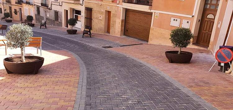 Pavimentación de las Calles Sant Josep