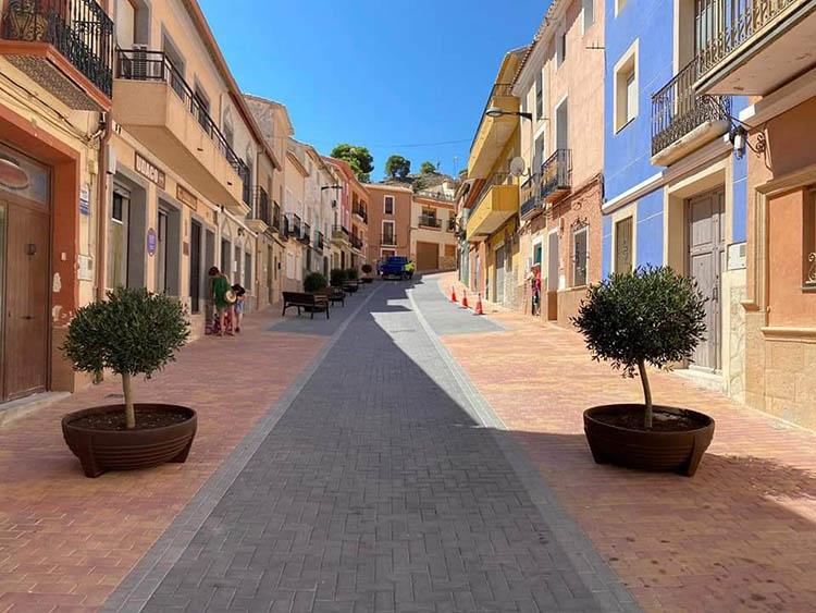 Pavimentación de las Calles Sant Josep_1